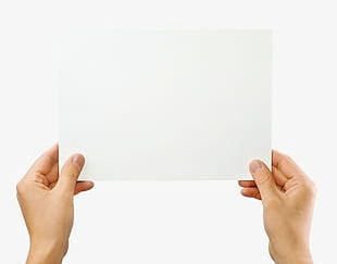 Holding Paper PNG Images, Holding Paper Clipart Free Download.