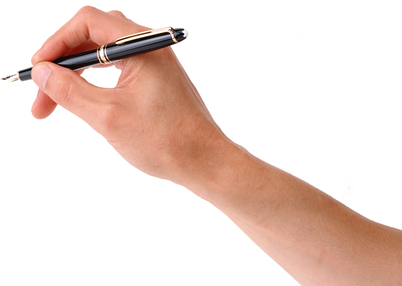 Pen PNG Images Hand With Pen Free Download.