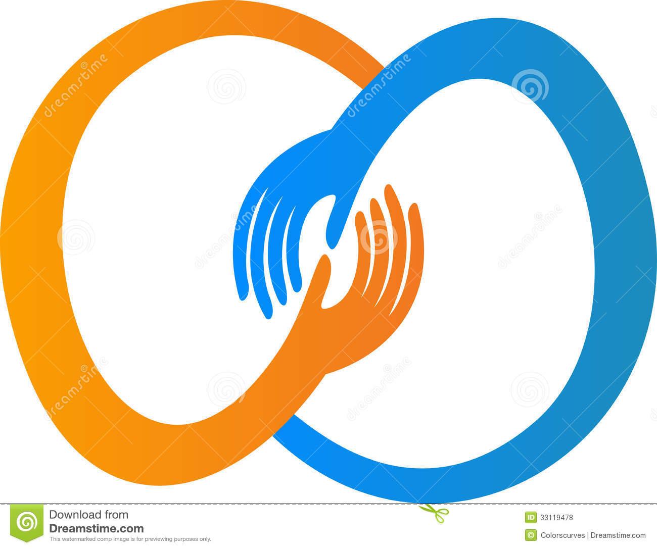 Hand Logo Clipart
