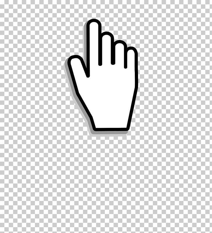 Computer mouse Pointer Cursor Hand, Mouse Click s, hand.