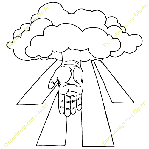 Hand of god clipart - Clipground
