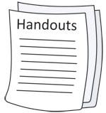 Handout Clipart.
