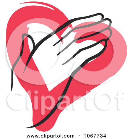 Hand Over Heart Clipart.