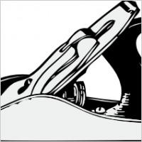 Clip art handplane.