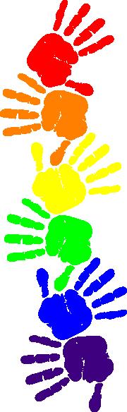 Handprint Clipart.