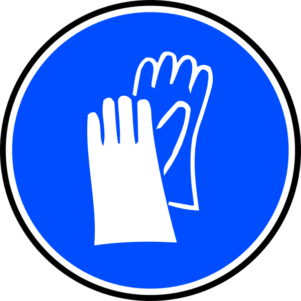 Mandatory Hands Palms Protection Clip Art at Clker.com.