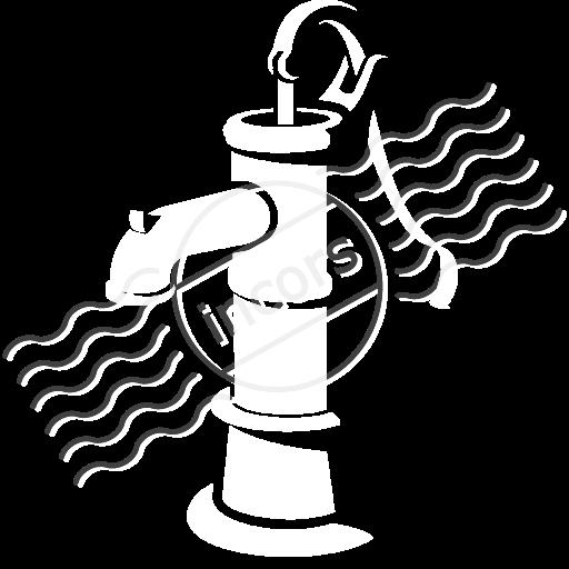Hand water pump clipart.