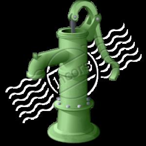 Hand Pump.