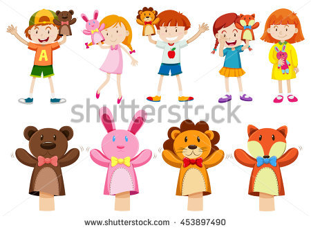 Hand Puppet Stock Photos, Royalty.