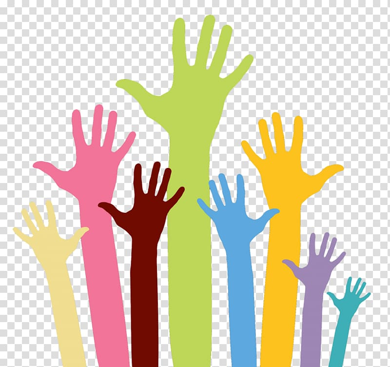Rights , Raising Hand transparent background PNG clipart.