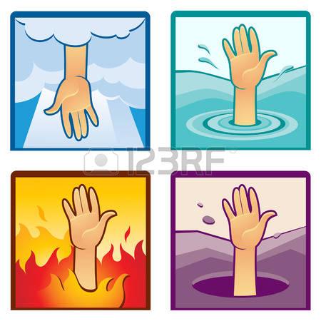 hand reaching down clipart #7