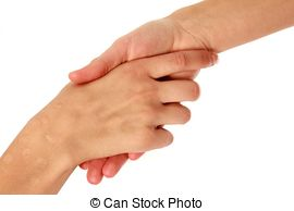 Stock Photo of helping hand.