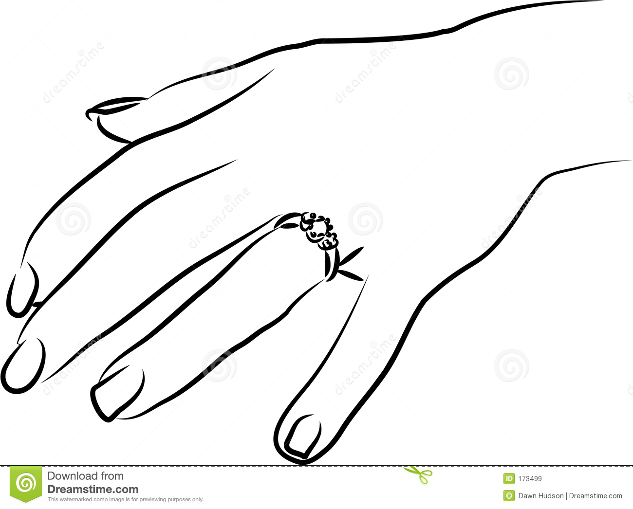 Engagement Ring Royalty Free Stock Images.