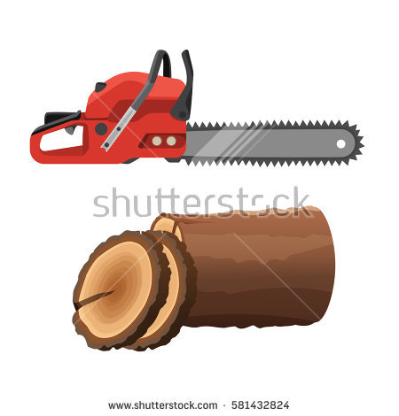 Chainsaw Stock Images, Royalty.