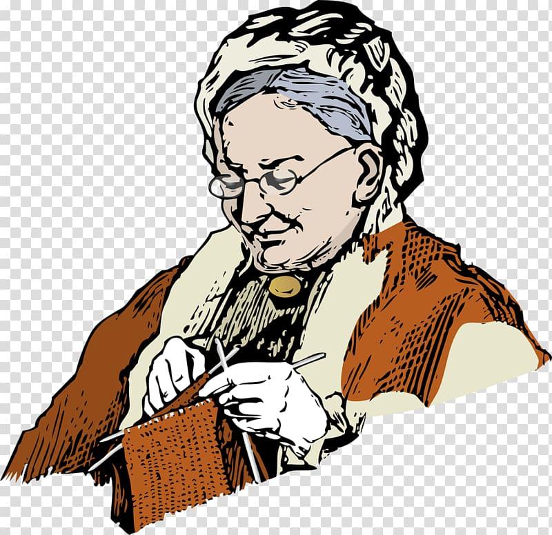 Knitting Hand.