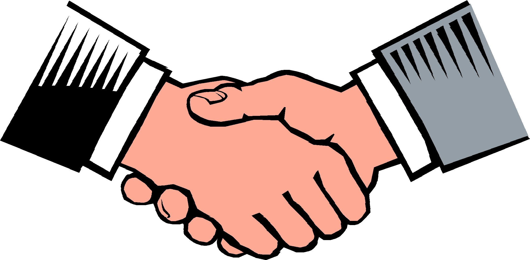 Shaking Hands Clipart.