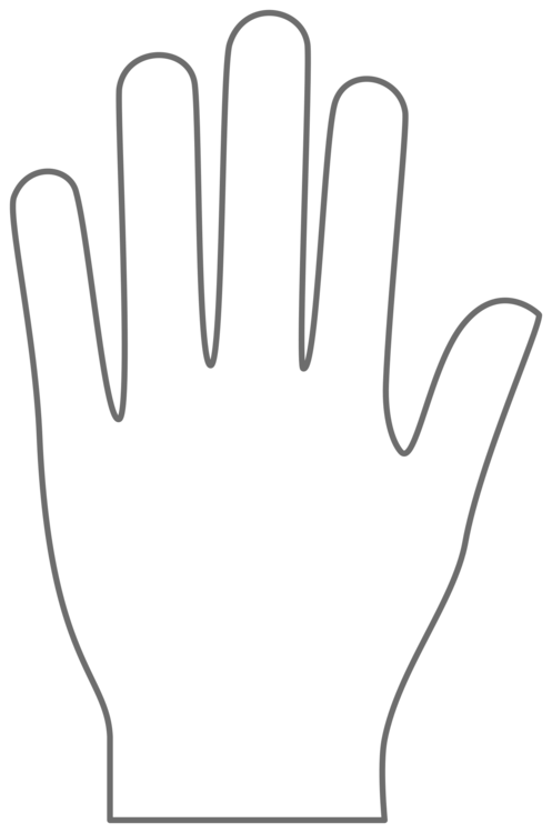 Hand shape download free clipart with a transparent.