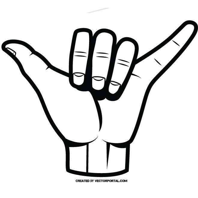 HAND GESTURE CLIP ART.