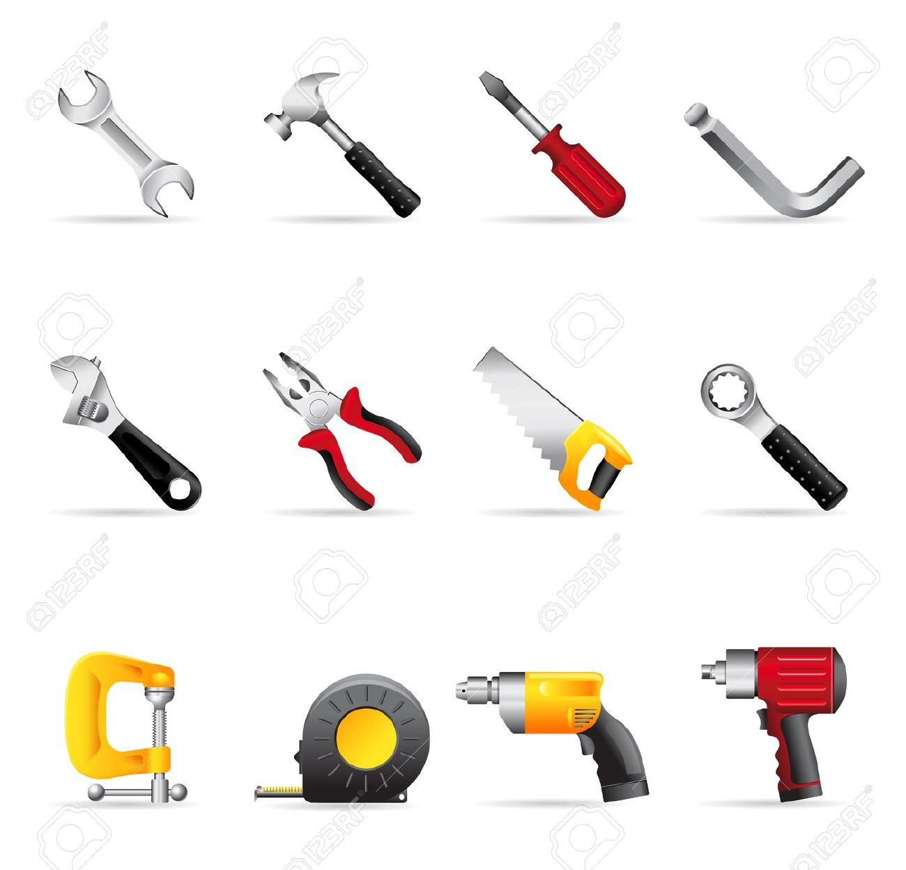 Hand Tool Clipart.
