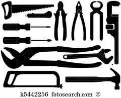 Hand tool Clip Art EPS Images. 25,577 hand tool clipart vector.