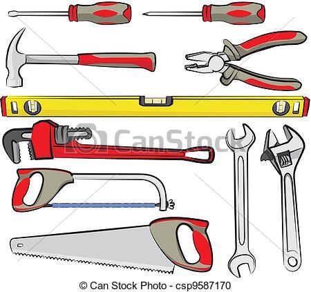 Clip Art Hand Tools Clipart.