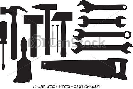 Hand tools Vector Clip Art EPS Images. 27,186 Hand tools clipart.