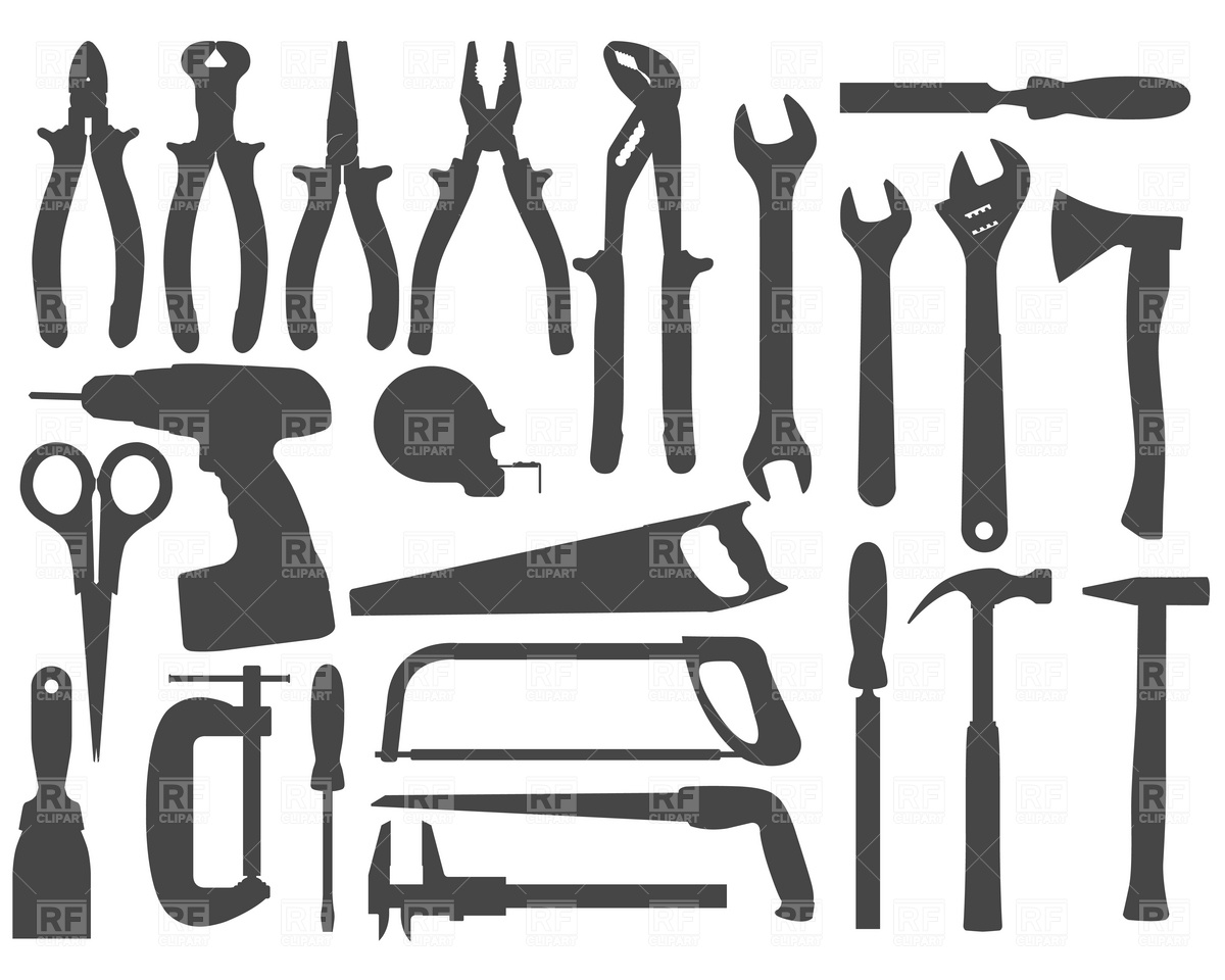 Free Clipart Hand Tools.
