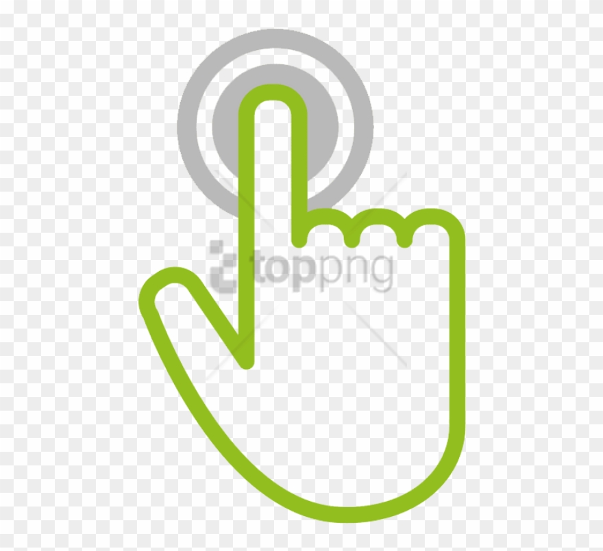 Free Png Download Hand Touch Icon Png Images Background.