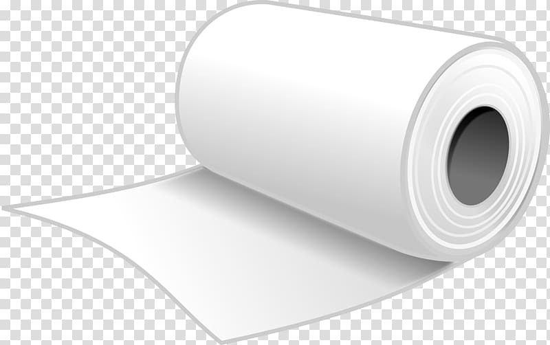 Paper Towel Material, paper transparent background PNG.
