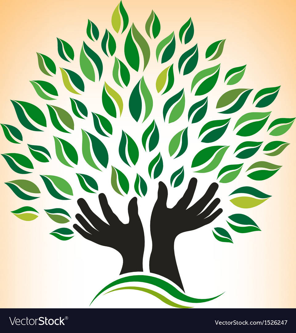 Supporting Hand Tree Logo.