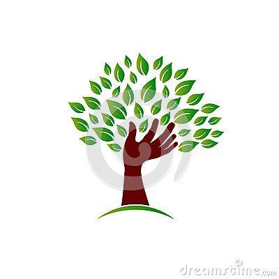 People logo tree hand.