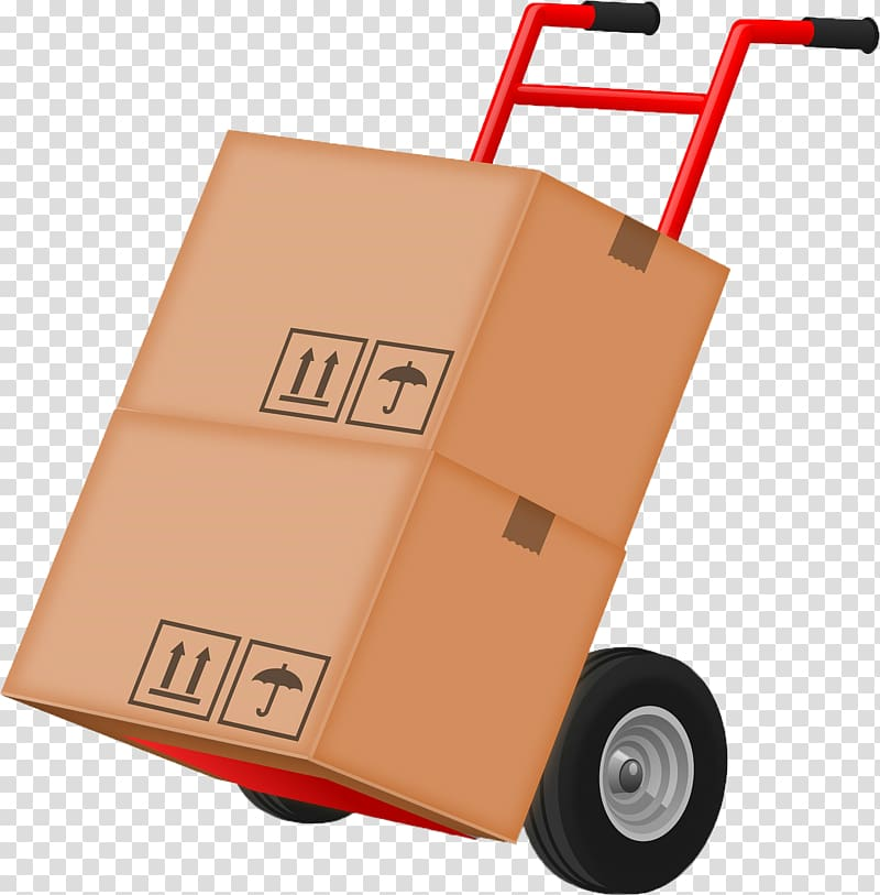 Hand truck Box Mover Relocation Transport, moving company.