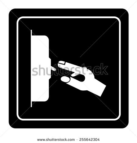 Hand Turning Off Light Stock Images, Royalty.