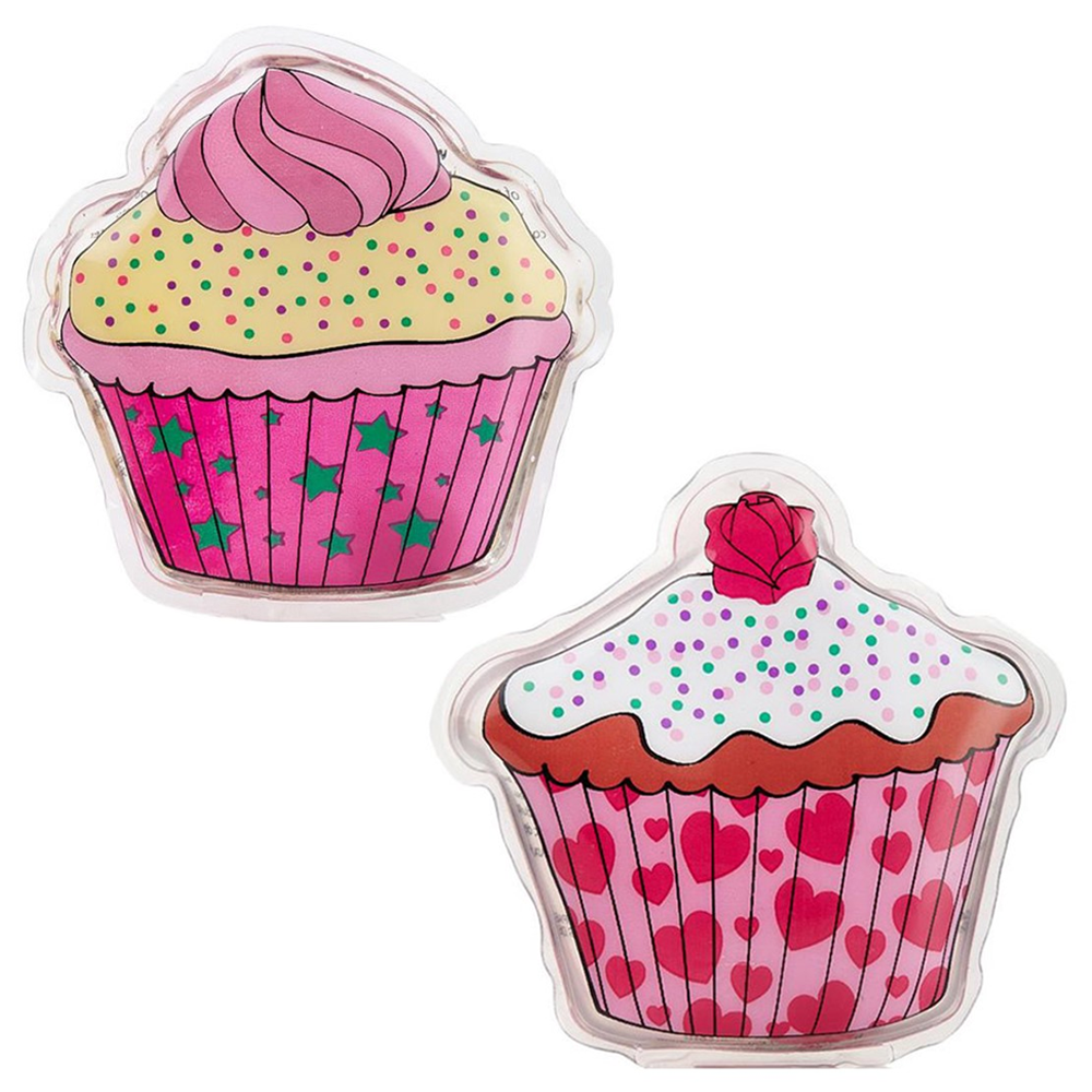 NPW Cupcake Pack of 2 Hand Warmers available from Flamingo Gifts..
