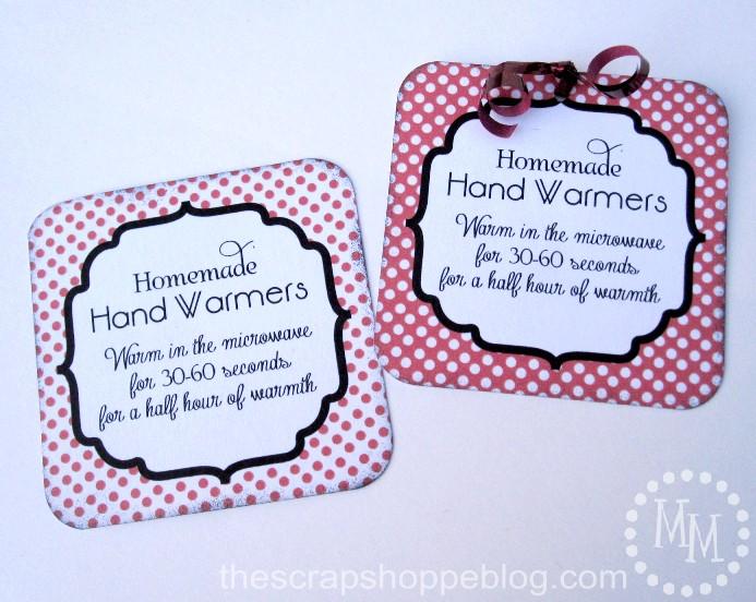 Workshop Wednesday} Homemade Hand Warmers.