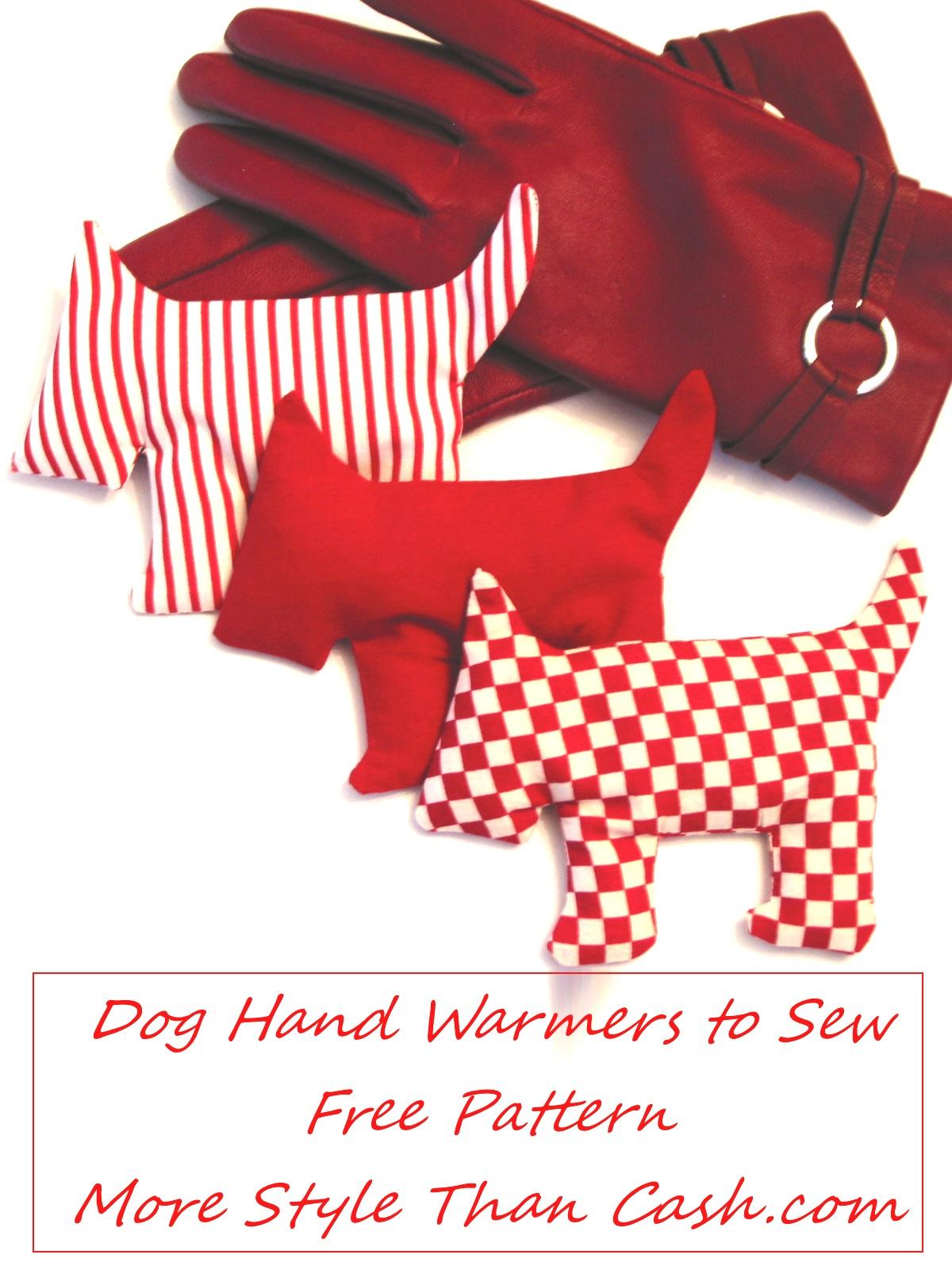 Dog Hand Warmers to Make.