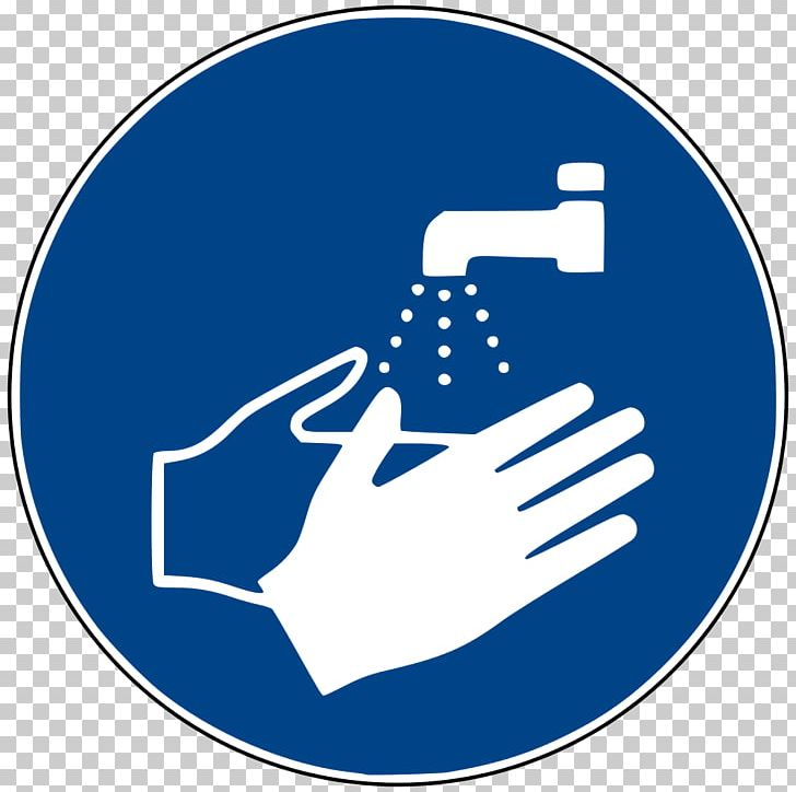 Hand Washing Symbol Sign PNG, Clipart, Area, Blue, Brand, Cleaning.