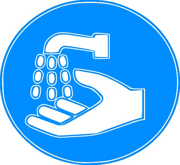 Hand Wash Sign Clip Art at Clker.com.