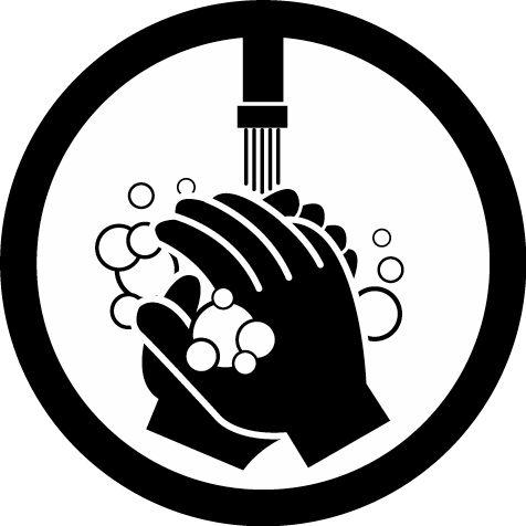 Hand washing clipart.