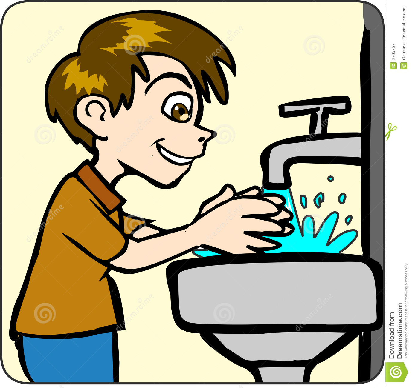 Free clipart hand washing.