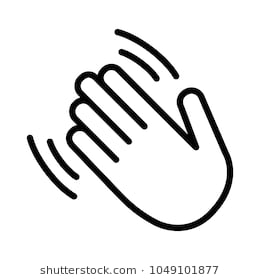 Hand wave clipart » Clipart Station.