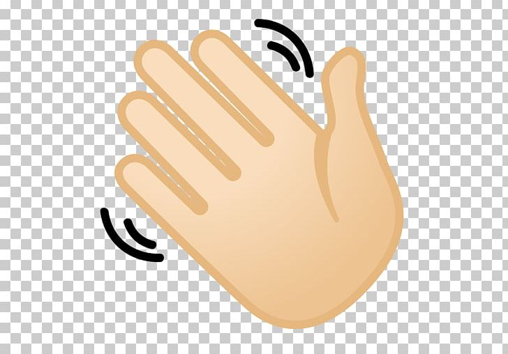 Emojipedia Wave Hand.
