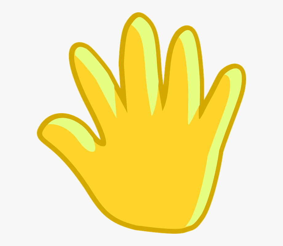 Goodbye Clipart Hand Wave.