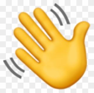 Free PNG Waving Hand Clip Art Download.