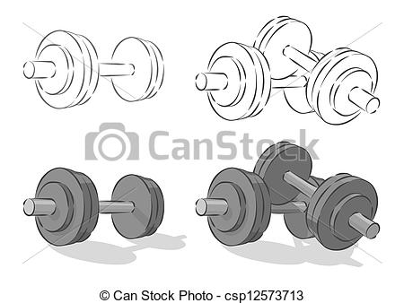 Dumbbells Illustrations and Clipart. 13,858 Dumbbells royalty free.