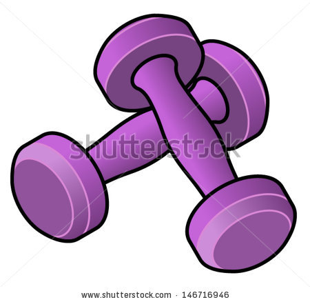 Dumbells Stock Photos, Royalty.