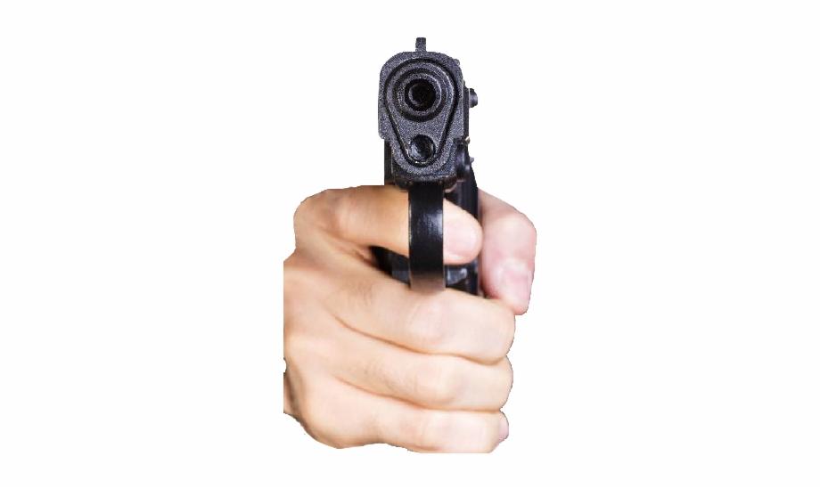 gun #gunedit #meme #hand #frontfacing #gunpointingatcamera.