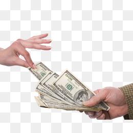 Holding Money Material Heap, Money Clipa #91715.