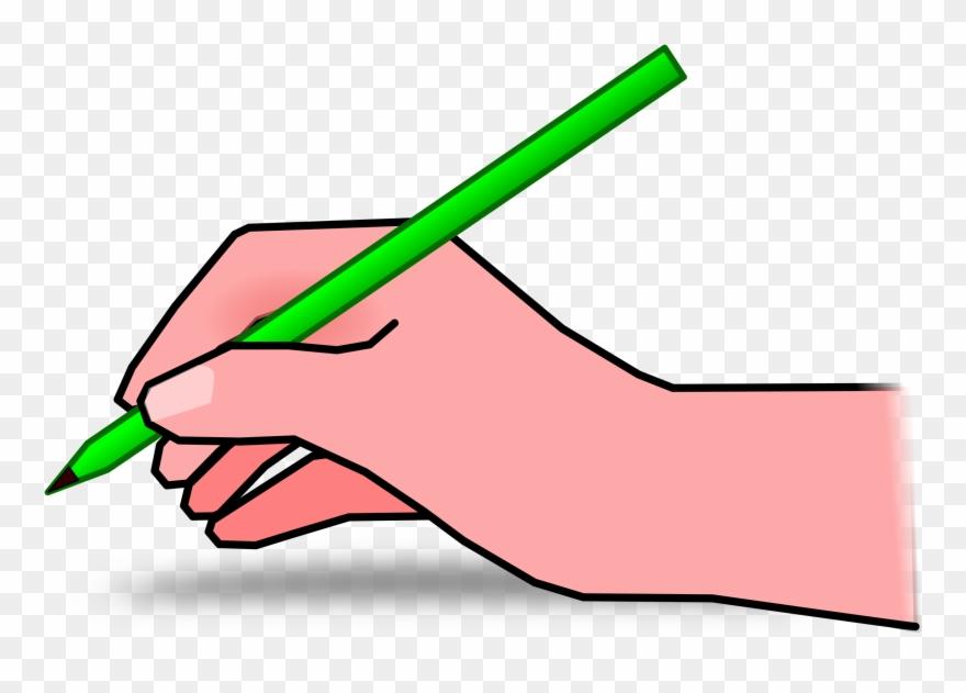 Clipart Pencil Hand.