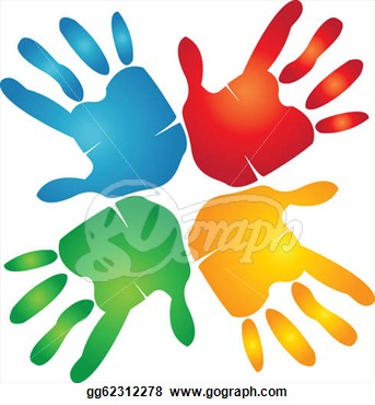 Clipart for hand work.